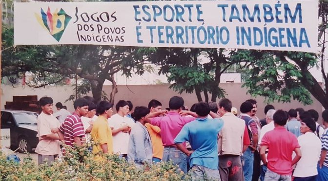 Povos indígenas, mobilizações e representações das práticas corporais
