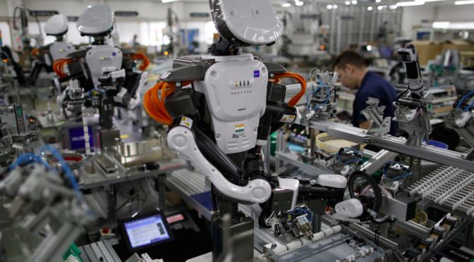 Revolução tecnológica, automação e vigilância