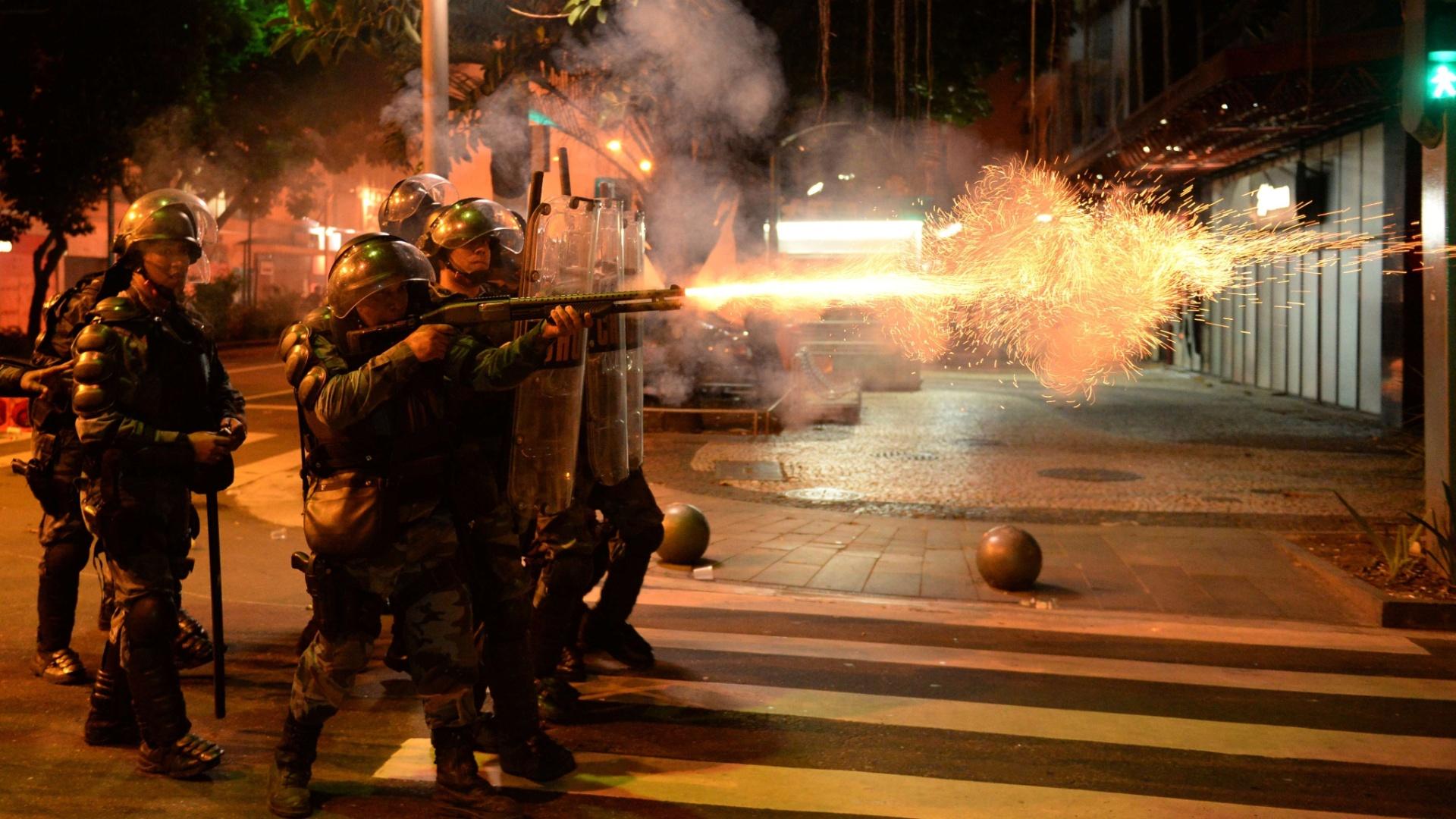 Breves considerações sobre o mercado futuro de gás lacrimogêneo